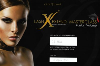 Lash Extend Russian Volume