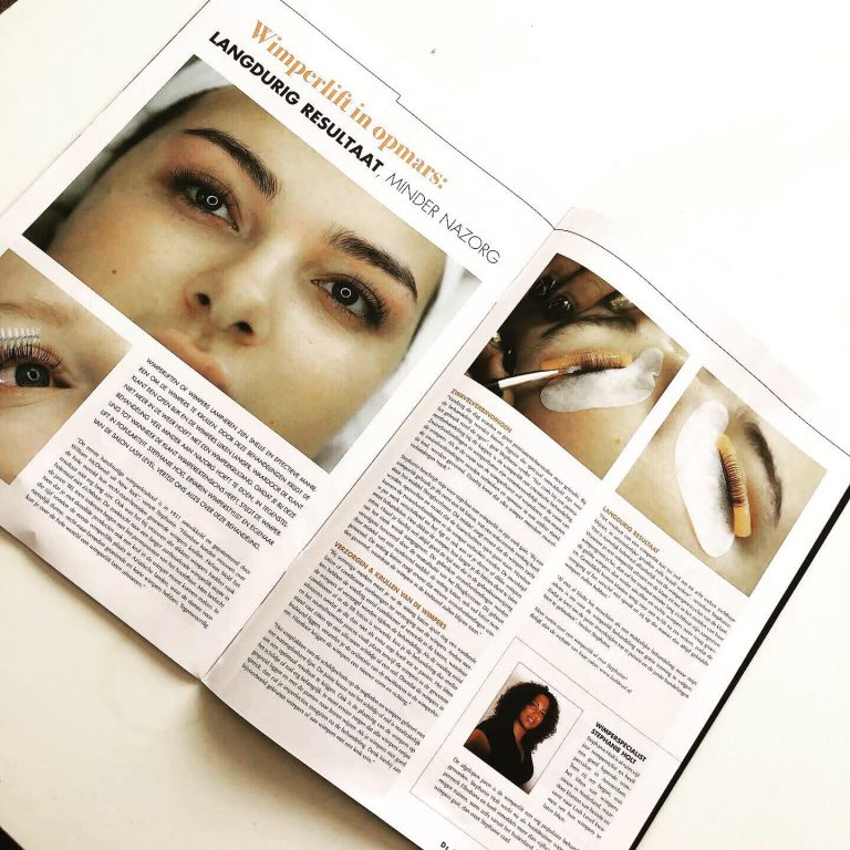 Vakblad de beautysalon wimperliften